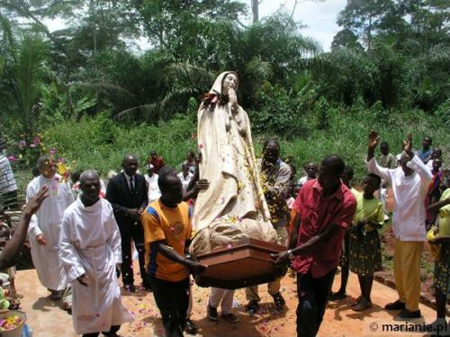 Act of Entrustment to Mary in the Diocese of Doume in Cameroon