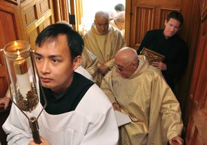 Brother Michael Gaitley, MIC, Professes Final Vows