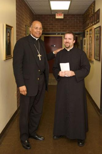 Father Andy Davy, MIC, is Ordained to the Priesthood