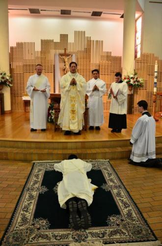 Father James Cervantes, MIC The Marians' Newest Priest