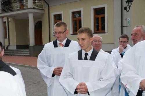 Poland, Skórzec: First vows of the Marian novices