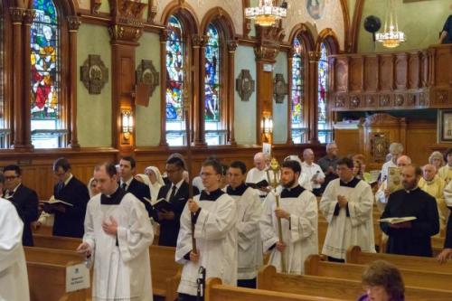 Brother Joe Lappe, MIC, Professes Perpetual Vows