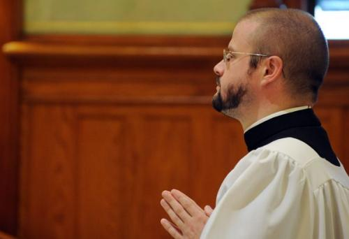 Brother Matthew Holladay, MIC, Professes Perpetual Vows