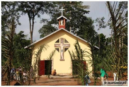 Cameroon, Kodjans: Blessing of Blessed George Matulewicz's Church