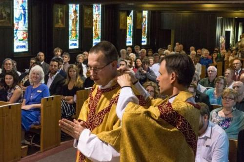 Deacon Jonathan Ordained to the Sacred Priesthood!