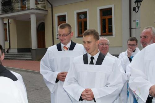 Poland, Skórzec: First vows of the Marian novices