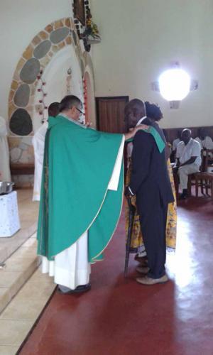 Kamerun, Atok: Chrzest i I komunia święta dzieci w Atoku
