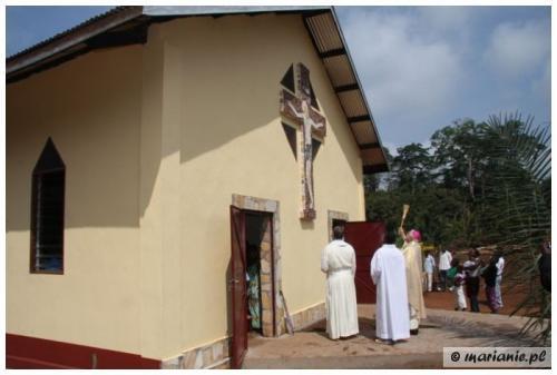 Kamerun, Kodjans: poświęcenie kościoła pw. bł. Jerzego Matulewicza