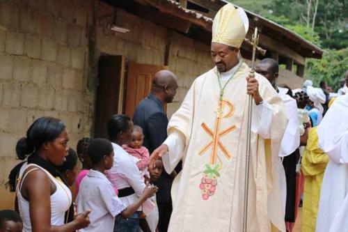Kamerun, Minkama: Nowa mariańska parafia