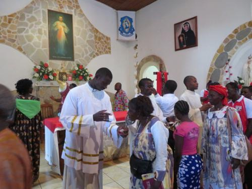 Kamerun: Relacja ze Święta Miłosierdzia Bożego 2017 w Atoku