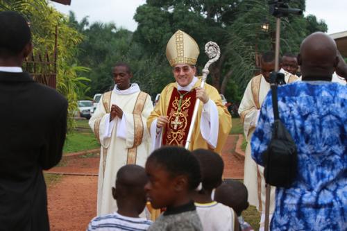 Kamerun: Swięto Miłosierdzia w Sanktuarium w Atoku